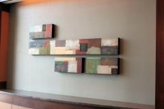 Tiersky-Arrangement-2-Mixed-media-on-wood-box-72x42x3
