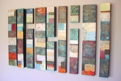 Tiersky-Split-Level-Mixed-media-on-wood-box-83x48x3