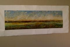 Tiersky-Horizon-2-Mixed-media-on-canvas-16x52