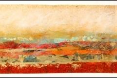 Tiersky-Horizon-7-Mixed-media-on-wood-box-resin-16x54x1